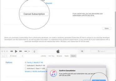 How Do I Cancel Through The Apple Tv App?